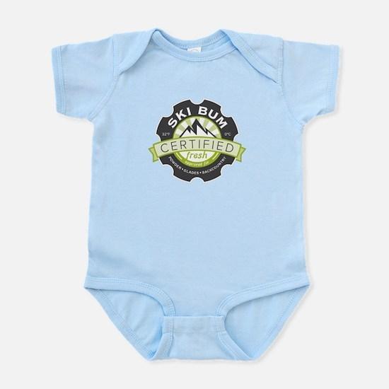 Certified Ski Bum Infant Bodysuit