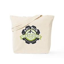 Certified Ski Bum Tote Bag