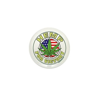 Hemp for Victory Mini Button (100 pack)