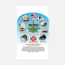 Hemp for Victory Sticker (Rectangle)