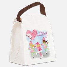 Love Skating Canvas Lunch Bag