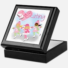 Love Skating Keepsake Box
