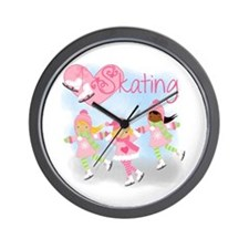 Love Skating Wall Clock