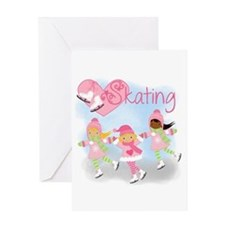 Love Skating Greeting Card