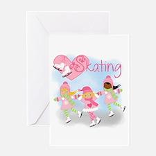 Love Skating Greeting Card