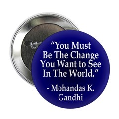 You Must Be the Change Button (100 pack)