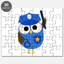 Owl Police Officer Puzzle