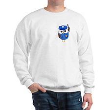 Owl Police Officer Sweatshirt