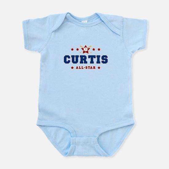 Curtis - Baseball All-Star Infant Bodysuit