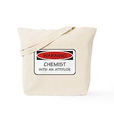 Attitude Chemist Tote Bag
