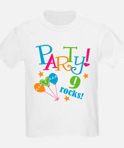 9th Birthday Party T-Shirt
