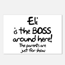 Eli is the Boss Postcards (Package of 8)