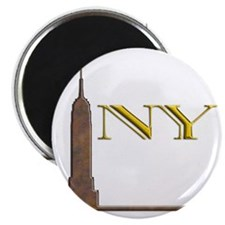 Empire State Building 1j Magnet