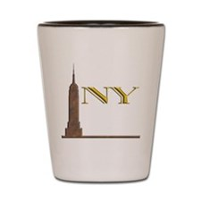 Empire State Building 1j Shot Glass