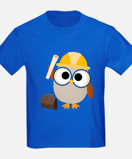 Construction Worker Owl T