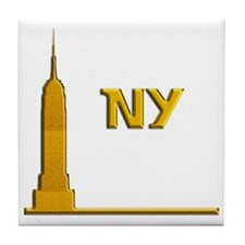 Empire State Building 1i Tile Coaster