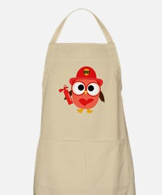 Owl Firefighter Apron