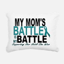 Moms Battle Rectangular Canvas Pillow