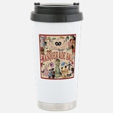 Masquerade Stainless Steel Travel Mug