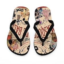 Masquerade Flip Flops