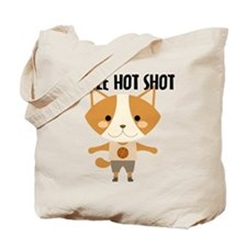 Fox Hot Shot Basketball Tote Bag