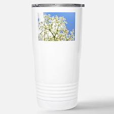 Elderflower Sky Stainless Steel Travel Mug