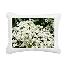 Elderflowers Rectangular Canvas Pillow