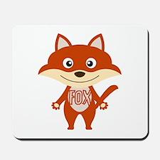 Red Fox Mousepad