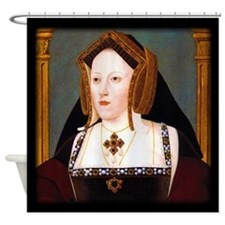 Catherine of Aragon Shower Curtain