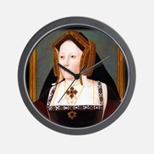 Catherine of Aragon Wall Clock