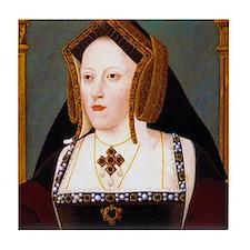 Catherine of Aragon Tile Coaster