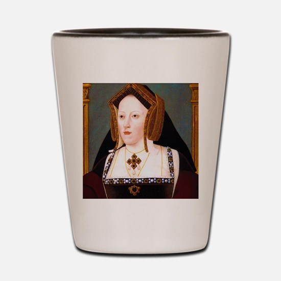 Catherine of Aragon Shot Glass