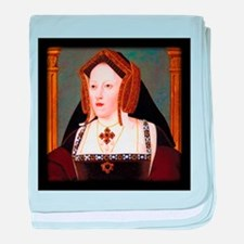 Catherine of Aragon baby blanket