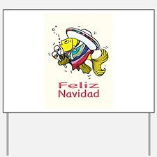 Feliz Navidad, Merry Christmas in spanish from a M