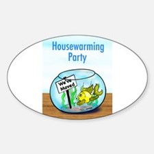 We Moved housewarming party Decal