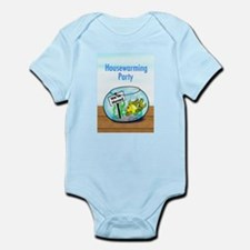 We Moved housewarming party Infant Bodysuit