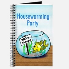 We Moved housewarming party Journal