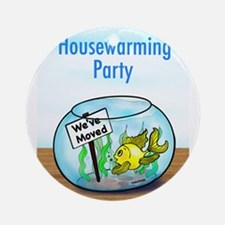 We Moved housewarming party Ornament (Round)