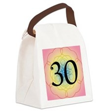 30th Birthday Party For Her Canvas Lunch Bag