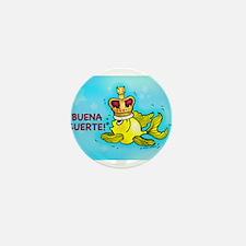 iBuena Suerte, Good luck in Spanish Mini Button