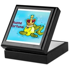 buona fortuna Keepsake Box
