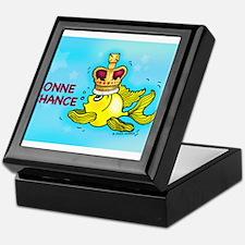 bonne chance, poissons de porter la couronne Keeps