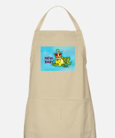 New Baby Crown Fish king Apron