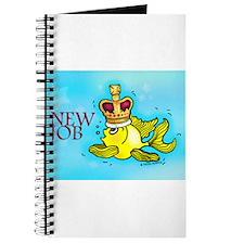 New Job cute fish crown Journal