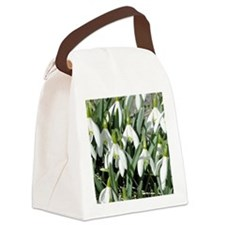 Snowdrops Canvas Lunch Bag