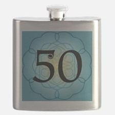50th Birthday Party For Her Flask