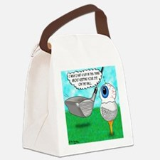 Keep Your Eye on the Ball Canvas Lunch Bag
