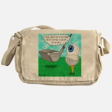 Keep Your Eye on the Ball Messenger Bag