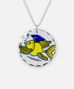 Graduate fish Necklace