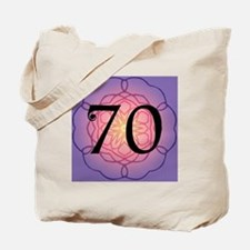 70th Birthday Party For Her Tote Bag